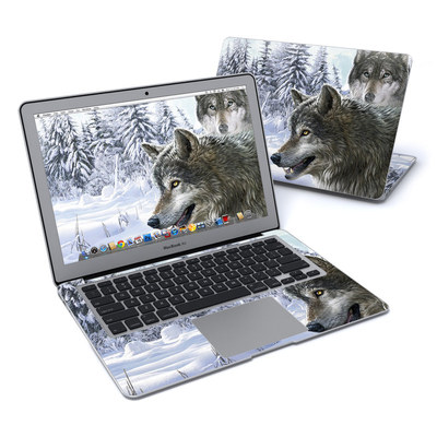 MacBook Air 13in Skin - Snow Wolves