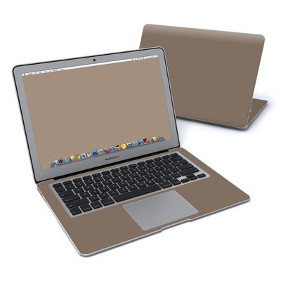 MacBook Air 13in Skin - Solid State Flat Dark Earth