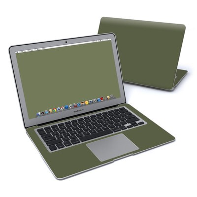 MacBook Air 13in Skin - Solid State Olive Drab