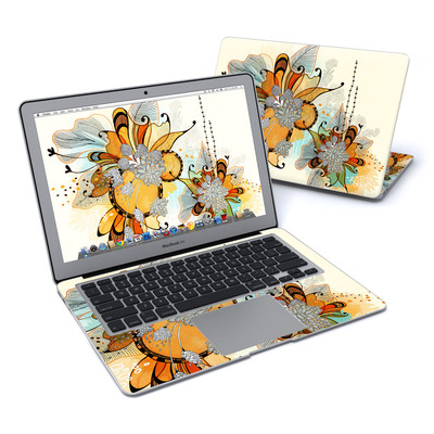 MacBook Air 13in Skin - Sunset Flowers