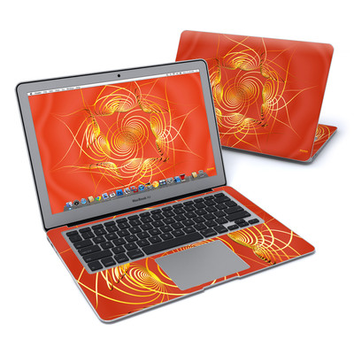 MacBook Air 13in Skin - Spiral Stellations