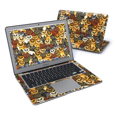 MacBook Air 13in Skin - Stacked Cats