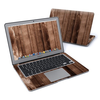 MacBook Air 13in Skin - Stained Wood