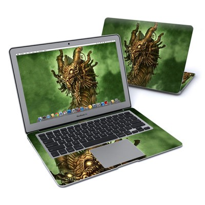 MacBook Air 13in Skin - Steampunk Dragon