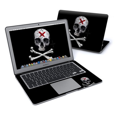 MacBook Air 13in Skin - Stigmata Skull
