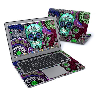 MacBook Air 13in Skin - Sugar Skull Sombrero