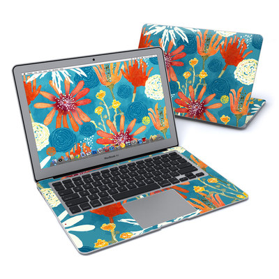 MacBook Air 13in Skin - Sunbaked Blooms
