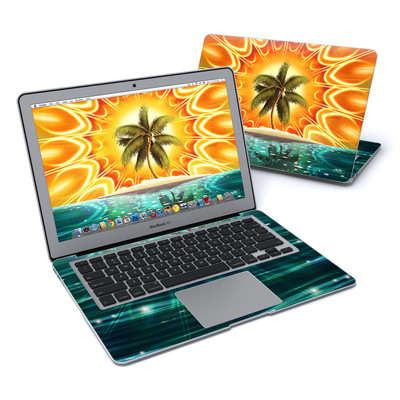 MacBook Air 13in Skin - Sundala Tropic