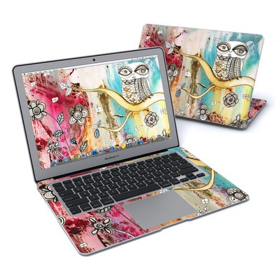 MacBook Air 13in Skin - Surreal Owl