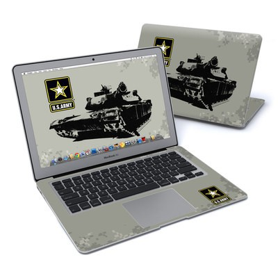 MacBook Air 13in Skin - Tank Tuff
