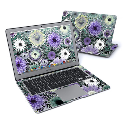MacBook Air 13in Skin - Tidal Bloom