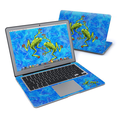 MacBook Air 13in Skin - Tiger Frogs