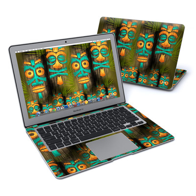 MacBook Air 13in Skin - Tiki Abu