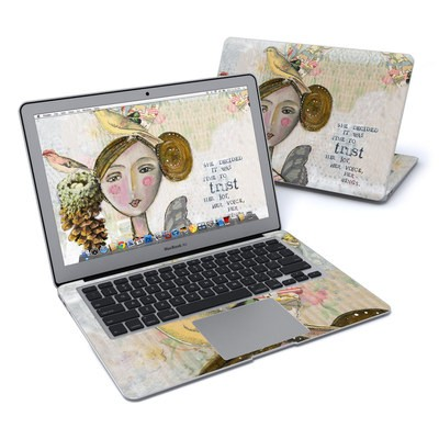 MacBook Air 13in Skin - Time To Trust