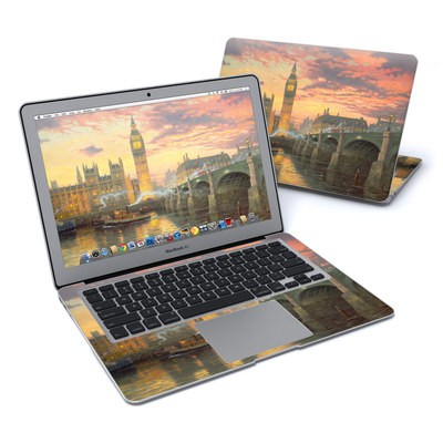 MacBook Air 13in Skin - Thomas Kinkades London