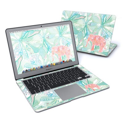 MacBook Air 13in Skin - Tropical Elephant