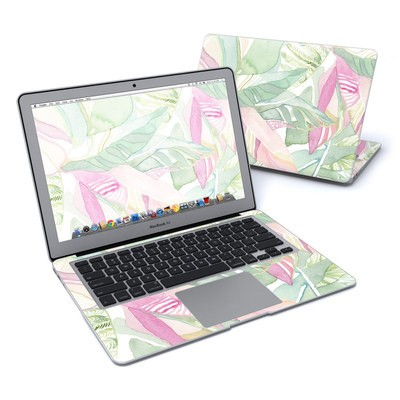 MacBook Air 13in Skin - Tropical Leaves