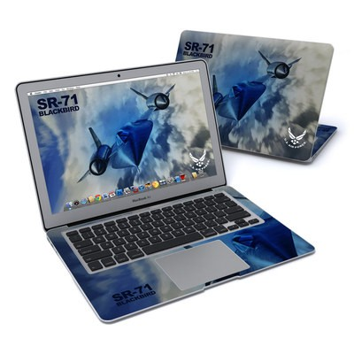 MacBook Air 13in Skin - Blackbird