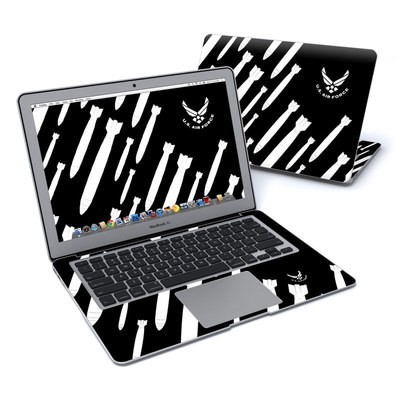 MacBook Air 13in Skin - Bombs Away