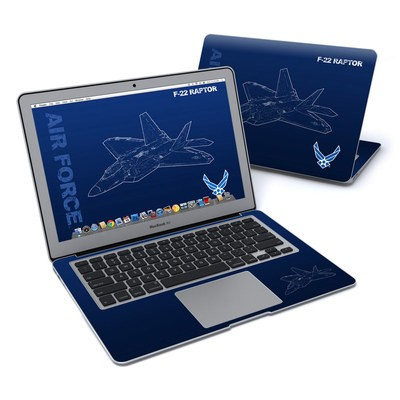 MacBook Air 13in Skin - F-22 Raptor
