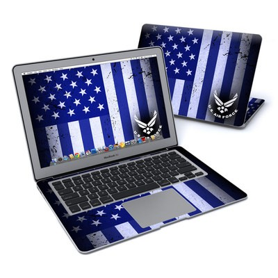 MacBook Air 13in Skin - USAF Flag