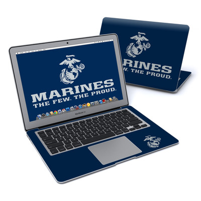 MacBook Air 13in Skin - USMC Blue