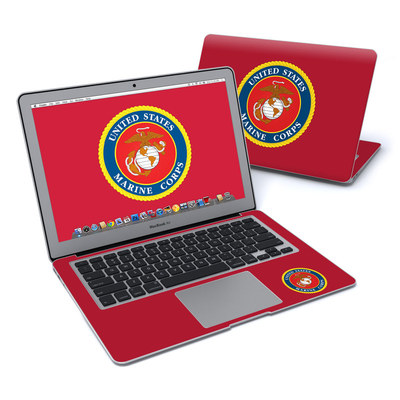 MacBook Air 13in Skin - USMC Red