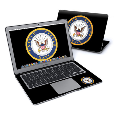 MacBook Air 13in Skin - USN Emblem