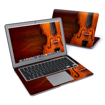 MacBook Air 13in Skin - Violin