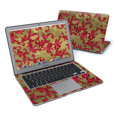 MacBook Air 13in Skin - Vintage Scarlet