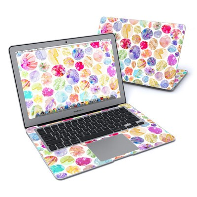 MacBook Air 13in Skin - Watercolor Dots