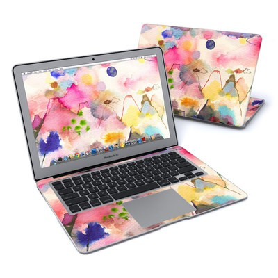 MacBook Air 13in Skin - Watercolor Mountains