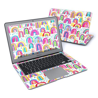 MacBook Air 13in Skin - Watercolor Rainbows