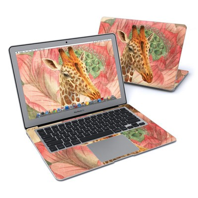 MacBook Air 13in Skin - Whimsical Giraffe