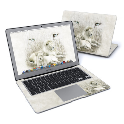 MacBook Air 13in Skin - White Lion