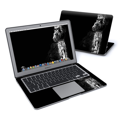 MacBook Air 13in Skin - White Tiger