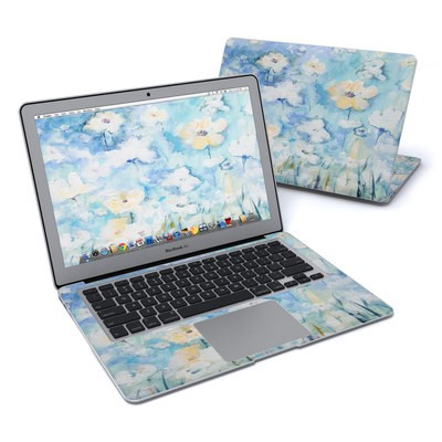 MacBook Air 13in Skin - White & Blue