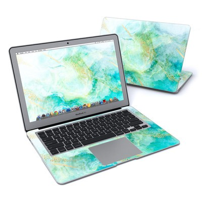 MacBook Air 13in Skin - Winter Marble
