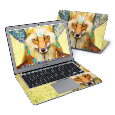 MacBook Air 13in Skin - Wise Fox