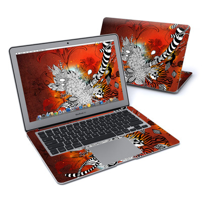 MacBook Air 13in Skin - Wild Lilly
