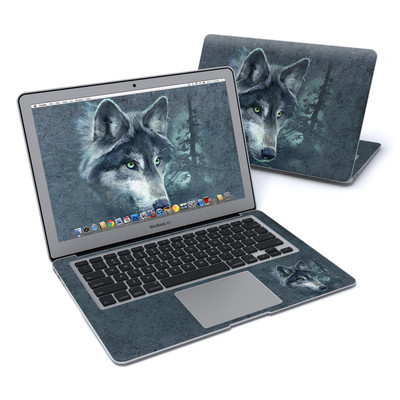 MacBook Air 13in Skin - Wolf Reflection