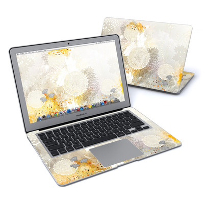 MacBook Air 13in Skin - White Velvet