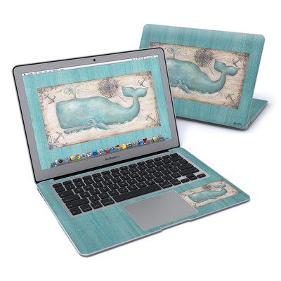 MacBook Air 13in Skin - Whale Watch