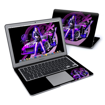 MacBook Air 13in Skin - Z33 Purple