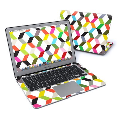 MacBook Air 13in Skin - Ziggy Cube