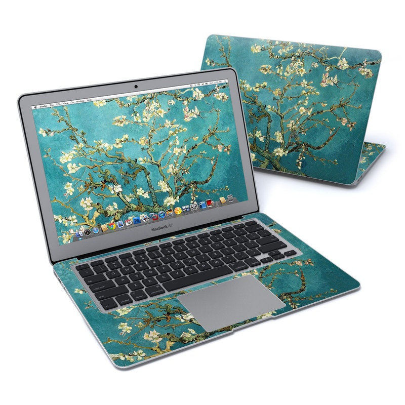 How To Make A Book Cover On Computer : Macbook air in skin blossoming almond tree by vincent