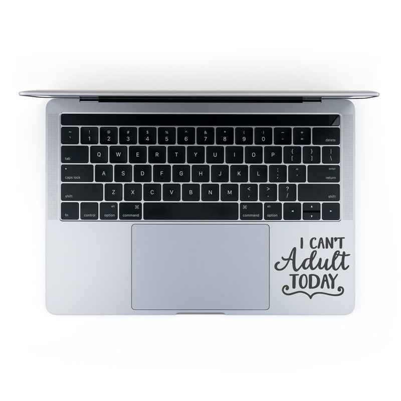 MacBook Decal - No Adulting