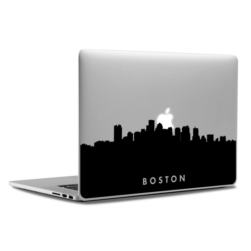 MacBook Decal - Boston Skyline