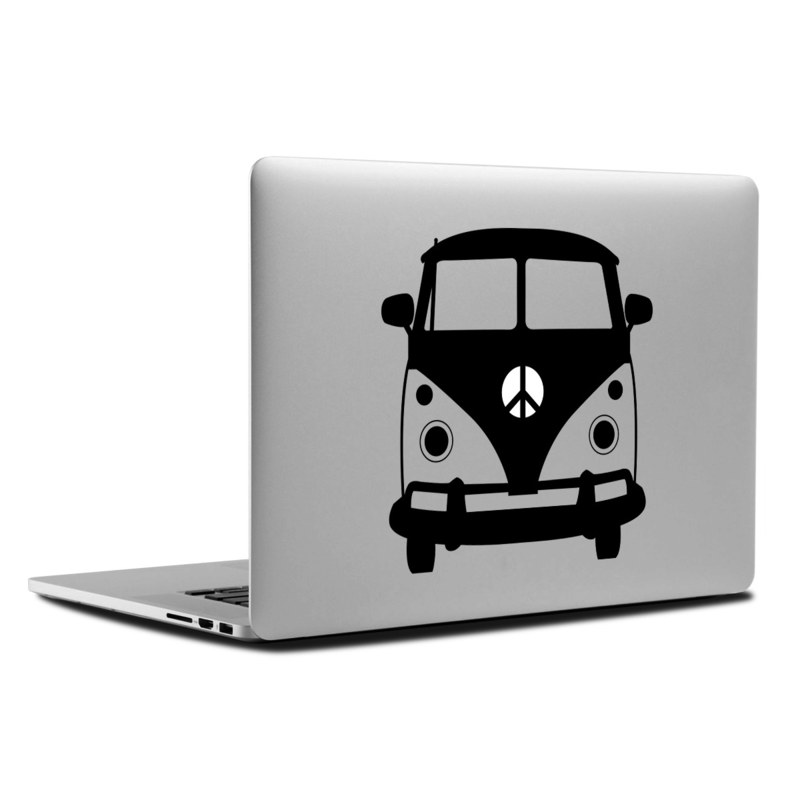 MacBook Decal - Bus