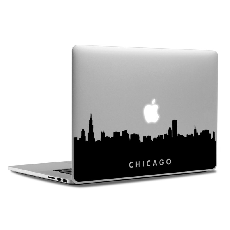 MacBook Decal - Chicago Skyline